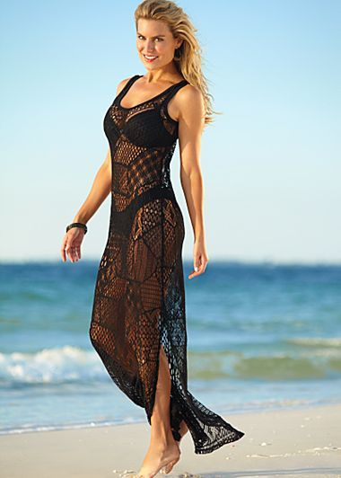Cover-up by venus.com - Easy to make with our 3246 maxi dress pattern!