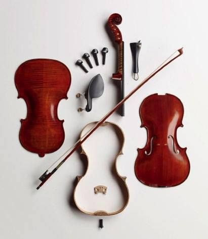 The deconstructed violin!