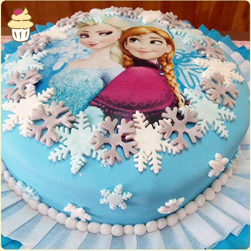 Resultado de imagen para imagenes torta frozen