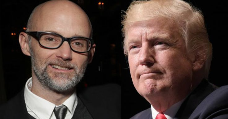 Moby spoke with HuffPost about activism and becoming a reluctant mouthpiece for anti-Trump intel.