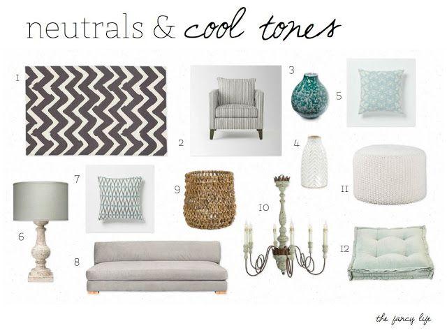 Neutrals & Cool Tones