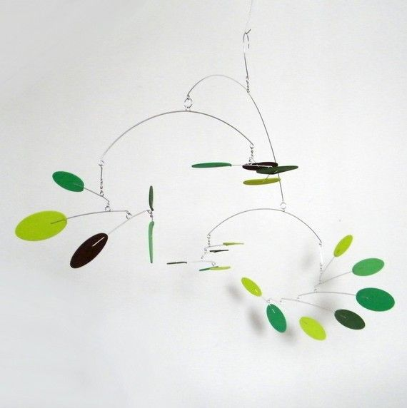 This Mid-Century Modern inspired Supernova Mobile has a great modern look and would be a great addition for your home or office. It looks