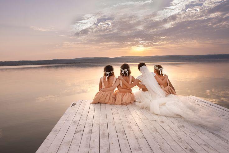 Wedding at sunset...