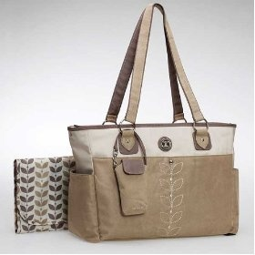 #mother's day gift idea  Carters Faux Suede Embroider Tote - Tan  $35.25