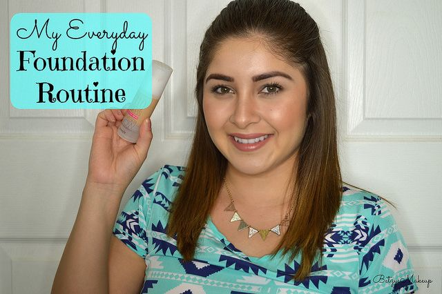 My Everyday Foundation Routine