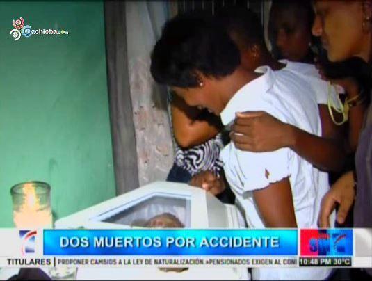 Dos Jovenes Mueren Atropellados Por Una Retroexcavadora #Video