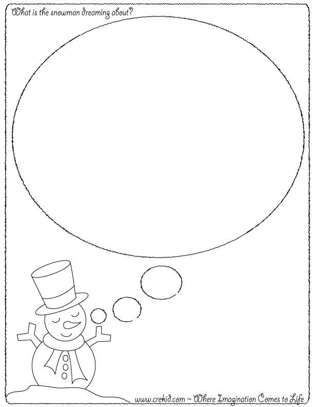 What is the snowman dreaming about? ~ Winter Theme ~ Snow ~ Snowflake ~ Snowman ~ Winter ~ Reindeer ~ Sleigh ~ Story Starters ~ Story Stones ~ Writing Prompts ~ Drawing Prompts ~ Preschool ~ Kindergarten ~ First Grade ~ 2nd Grade ~ 3rd Grade ~ Homeschool ~ Creativity ~ Sentence Starters ~ Creativity ~ Imagination ~ First Grade ~ Second Grade ~ Third Grade ~ Christmas