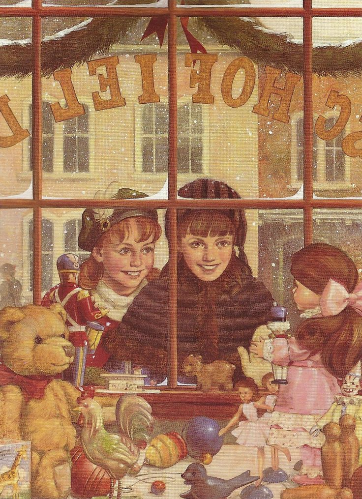 American Girls Samantha And Nellie See The Most Wonderful Doll In Toy Shop Window