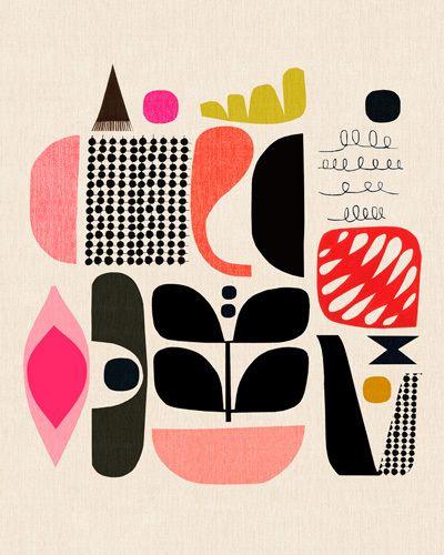 Mixed Lollies II - Inaluxe Prints - Easyart.com