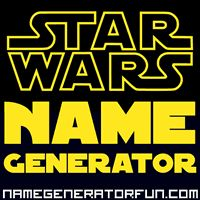 The Star Wars Name Generator: Your SWTOR Star Wars Name
