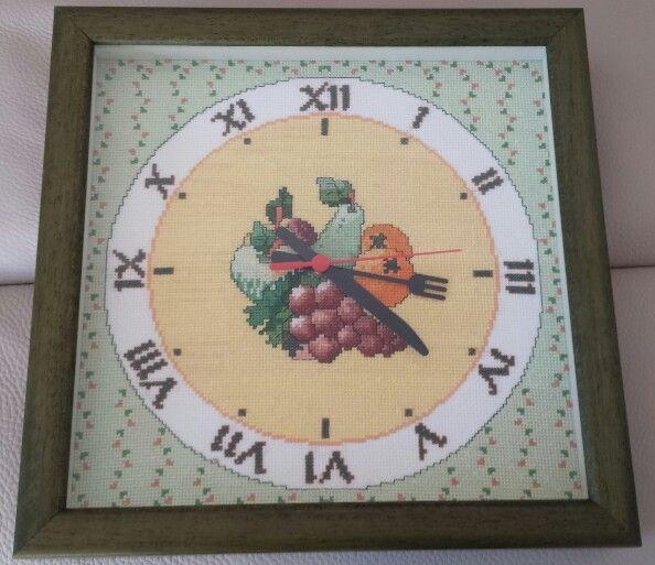 Relojes cocina en punto de cruz gratis imagui - Relojes para cocina ...