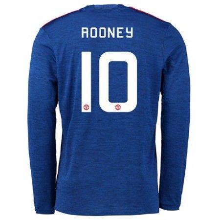 Manchester United 16-17 Wayne #Rooney 10 Bortatröja Långärmad,304,73KR,shirtshopservice@gmail.com