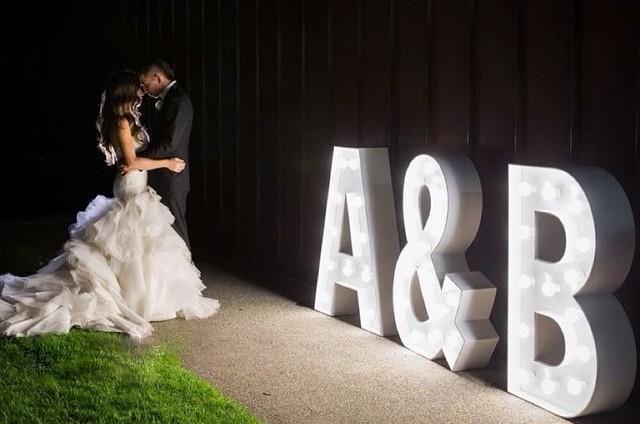 Decoracion Letras Boda ~   letras decoracion para decoracion letras boda de letras boda sara