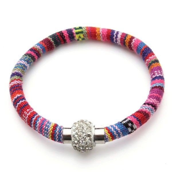 2015 nieuwe handgemaakte stardust ontwerp crystal magnetische sluitingen shambhala armband voor vrouwen snoep kleuren katoen armbanden F2818 in  nieuwe ontwerp met de hand gemaakte 2015 stardust kristal magnetische sluitingen shambhala armband voor vrouwen van charme armbanden op AliExpress.com | Alibaba Groep