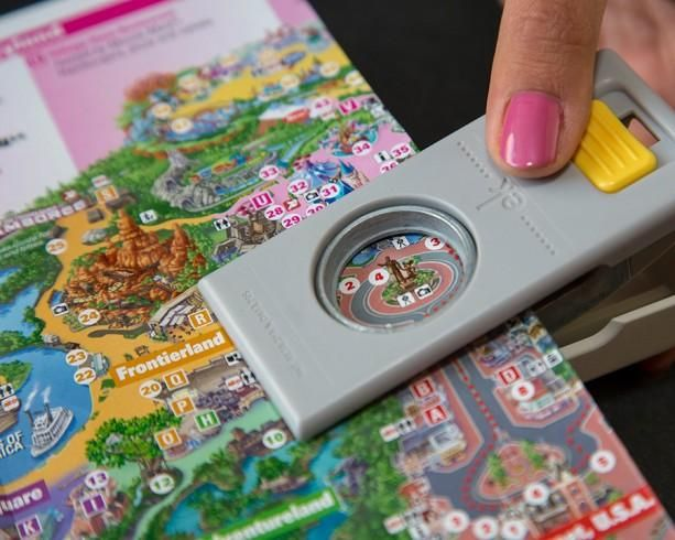 Show Your DIY Disney Side: Disney Parks Guide Map Magnets