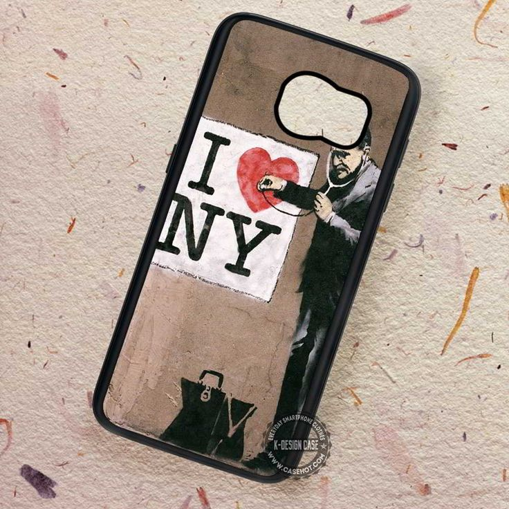 Graffiti New York Doctor I Love - Samsung Galaxy S7 S6 S5 Note 7 Cases & Covers