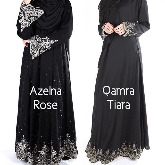 Azelna & Qamra Rose Princess Cut