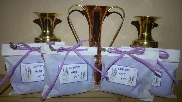 250ml Gift Bag Lavender Bath Salt