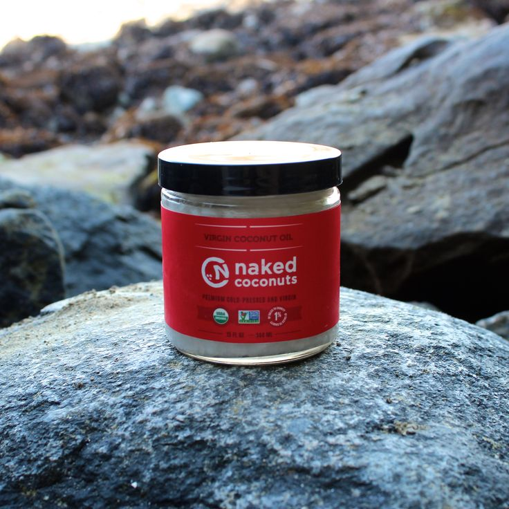 Naked packaging - so proud of our glass jars. #CoconutOil #Clean #Packaging