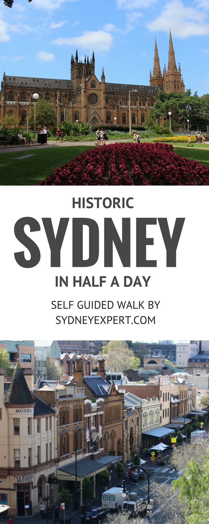 An easy 2-3 hour self-guided walk in Sydney city that takes in many of the cities historic gems. #Sydney #Australia #free