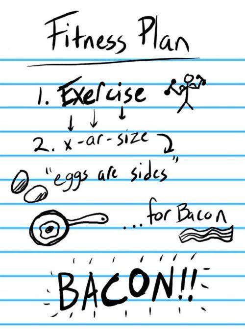 fitness plan, lol!!