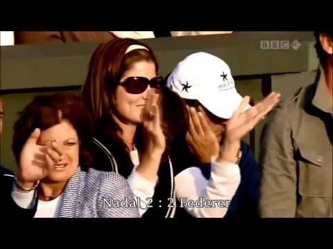 Federer Vs Nadal Wimbledon 2008 F Highlights