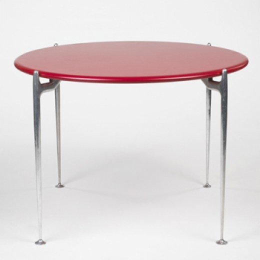 Alexander Girard, Dining Table By Herman Miller For Braniff Airlines, 1965.