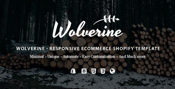 Wolverine - Responsive Multipurpose Shopify Theme