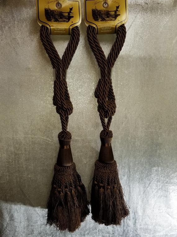 Purchased New From Hobby Lobby Never Used Cord Curtain Tiebacks