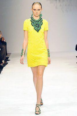 Verde e amarelo - verão 2009
