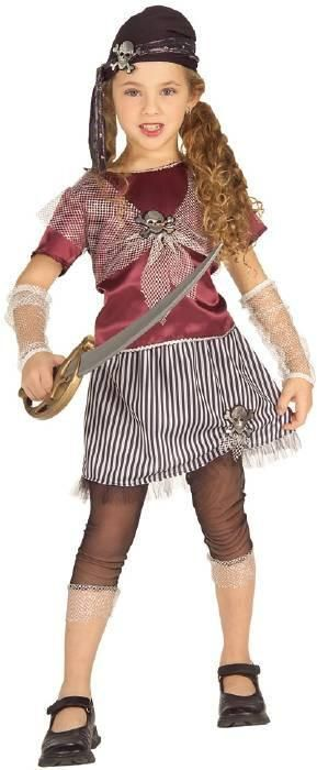 High Seas Pirate Queen Toddler Costume