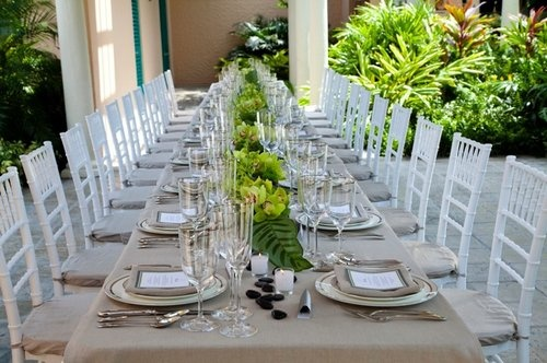 Chic and Natural Reception