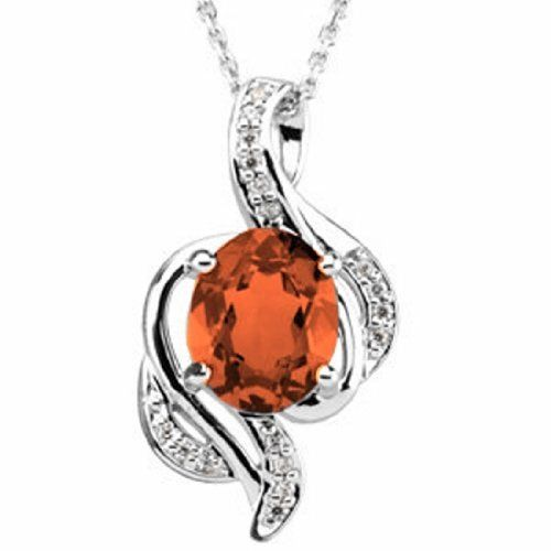 Platinum Oval Cut Fire Opal and Diamond Pendant Gems-is-Me. $1969.96. FREE PRIORITY SHIPPING. This item will be gift wrapped in a beautiful gift bag. In addition, a 'gift message' can be added.. Save 40% Off!