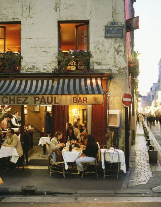 Chez Paul, 2015 Conde Nest 50 Best Restaurants in Paris, France.