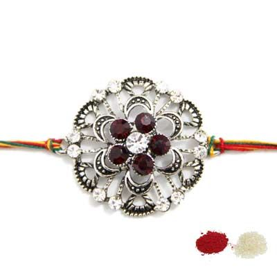 Send silver rakhi in India to your brother and sister through gallery of Fancyrakhi. They offer an exclusive and affortable price on silver rakhi, by these rakhi to make happy your moments.