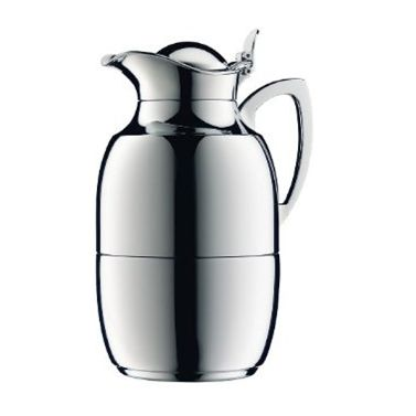 1 piece 0.8liter thermos (for coffee) by Alfi (Alfie) thermos jewel double stainless 0.8 L