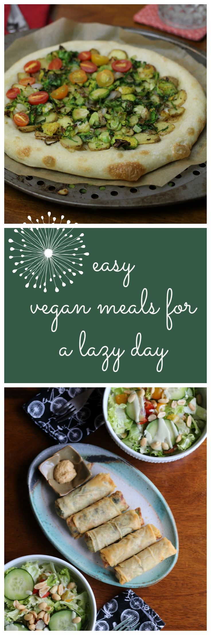 What vegans eat: Food for lazy days - Cadry's Kitchen