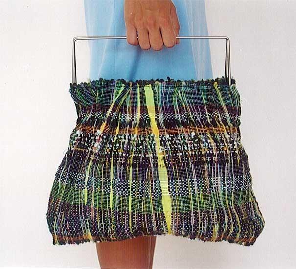 Hand woven bag from Joanna Louca