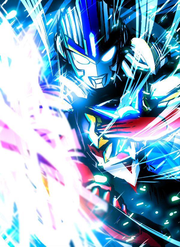 Ultraman Orb Trinity Seni Animasi Jepang