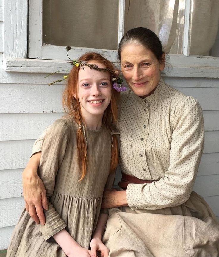 Anne and Marilla - the fantastically talented Amybeth McNulty and Geraldine James