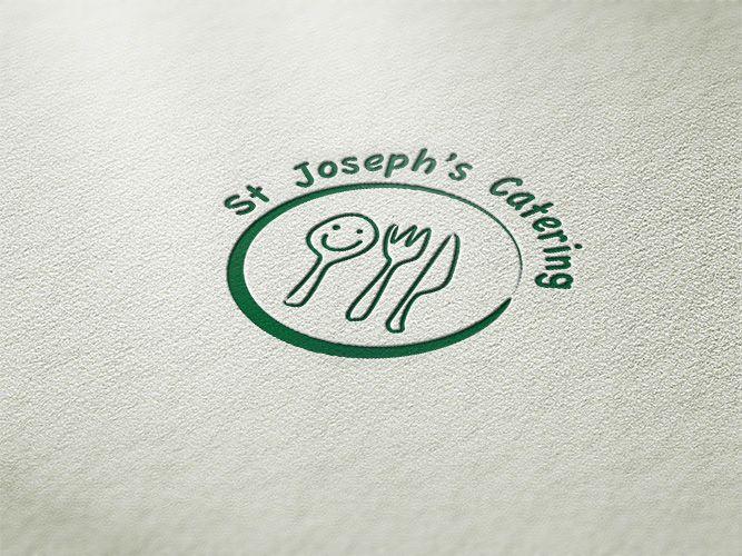 St Joseph's Catering Log Design