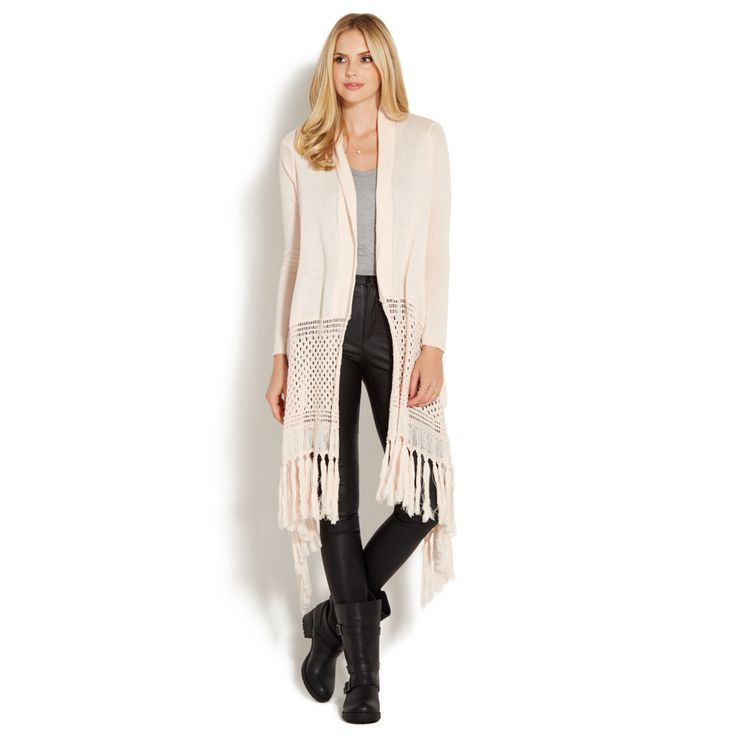 SPACE DYE FRINGE CARDIGAN @shoedazzle #stilettosociety #holidayshopping #wishlist