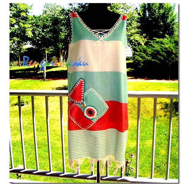 Rengarenkoku: Peştemal elbise.Lütfen fiyat bilgisi ve siparişleriniz için rengarenkoku@gmail.com adresine e- posta yollayınız.instagram adresimizden facebook sayfamızdan da tasarımlarımızı izleyebilirsiniz..