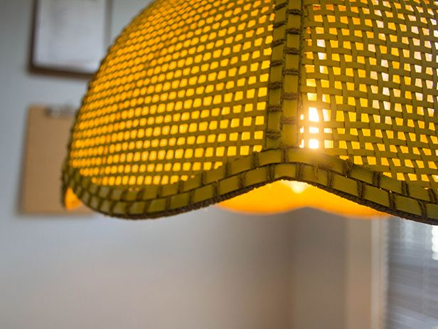 $5 Light Fixture Upcycle in Sunny Yellow >> http://blog.diynetwork.com/maderemade/how-to/5-light-fixture-fix-up/?soc=pinterest: Diy Light
