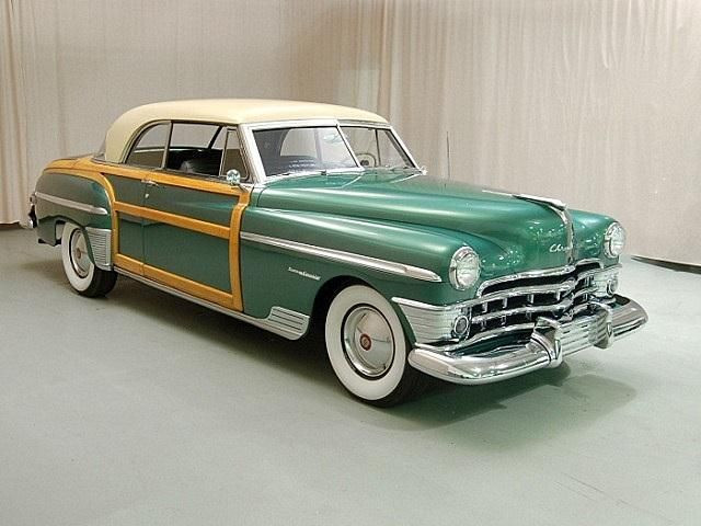 1950 Chrysler Town and Country Woodie - Love that shade of green. Always have, always will.