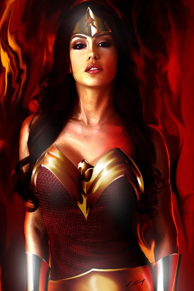 really really like Wonder Woman. Probably my first crush. Hahahha
