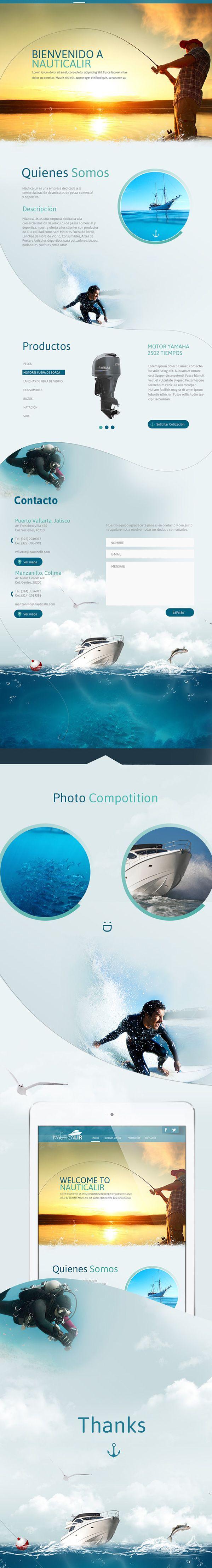 Nauticalir Web on Web Design Served
