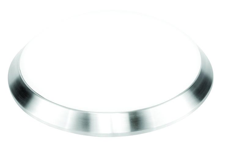 Torus 22w T5 Round Ceiling Light in Aluminium