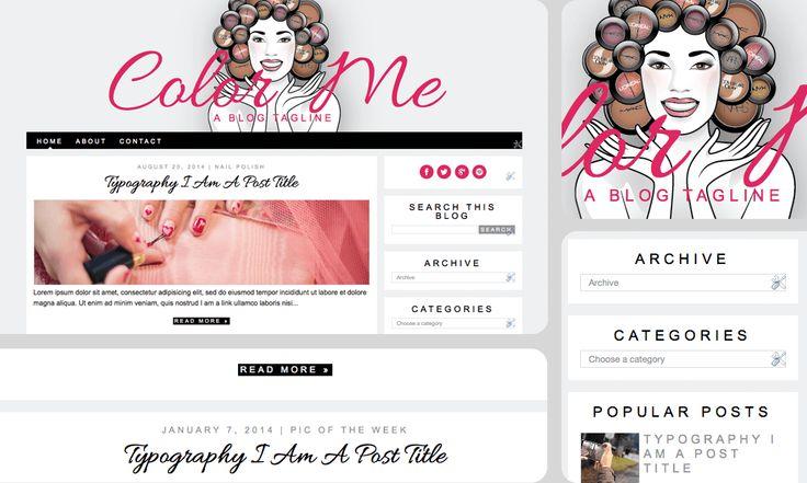 Chic & Sassy Designs: Color Me: a makeup design