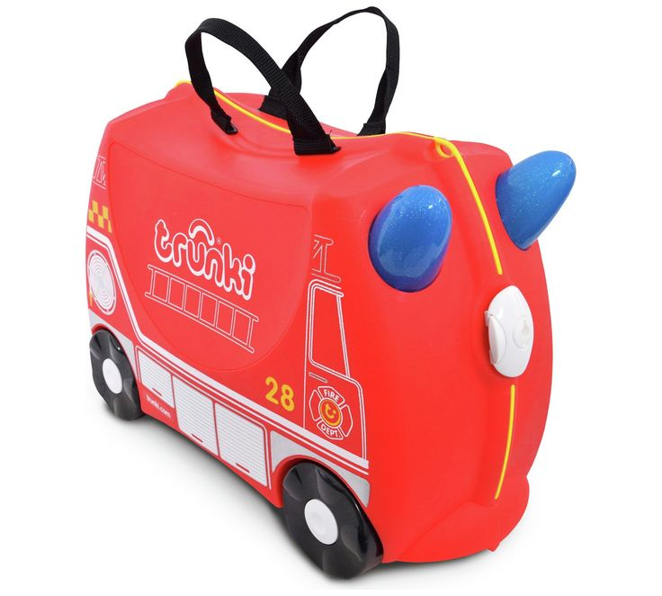 Buy Trunki Frank the Firetruck Ride-On Suitcase at Argos.co.uk, visit Argos.co.uk to shop online for Childrens luggage, Bags, luggage and travel, Sports and leisure